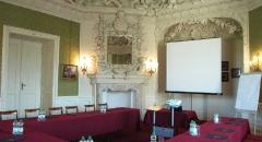 Sala konferencyjna na 35 osób, Rydzyna, w obiekcie Hotel Zamek  w  Rydzynie