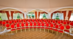 Sala konferencyjna na 120 osób, Zalesie, w obiekcie ZALESIE MAZURY ACTIVE SPA