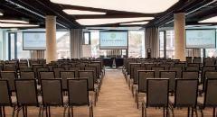 Sala konferencyjna na 120 osób, Łódź, w obiekcie Fabryka Wełny Hotel & Spa