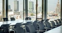Sala konferencyjna na 50 osób, Warszawa, w obiekcie Centrum Konferencyjno – Szkoleniowe w Zebra Tower
