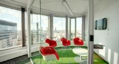 Sala konferencyjna na 4 osób, Warszawa, w obiekcie Centrum Konferencyjno – Szkoleniowe w Zebra Tower