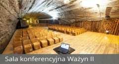 Sala konferencyjna na 180 osób, Bochnia, w obiekcie Kopalnia Soli Bochnia