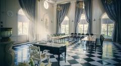 Sala konferencyjna na 110 osób, Krubki-Górki, w obiekcie Hotel Pałac Alexandrinum****