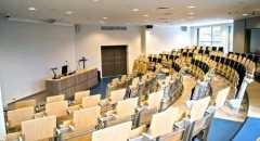 Sala konferencyjna na 100 osób, Kraków, w obiekcie EUROPEJSKIE CENTRUM KSZTAŁCENIA USTAWICZNEGO I MULTIMEDIALNEGO