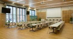 Sala konferencyjna na 200 osób, Raszyn, w obiekcie Centrum Konferencyjno-Wystawiennicze (CKW) Instytutu Badawczego Leśnictwa
