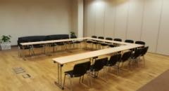 Sala konferencyjna na 50 osób, Warszawa, w obiekcie Studio Sante