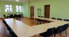 """Sala konferencyjna na 32 osób, Zakliczyn, w obiekcie Stowarzyszenie Pomocy Osobom Niepełnosprawnym """"Bez Barier"""""""