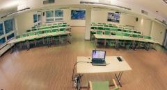 Sala konferencyjna na 150 osób, Smardzewice, w obiekcie Centrum Konferencyjno Rekreacyjne MOLO