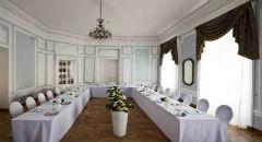 Sala konferencyjna na 110 osób, Warszawa, w obiekcie Pałac Prymasowski